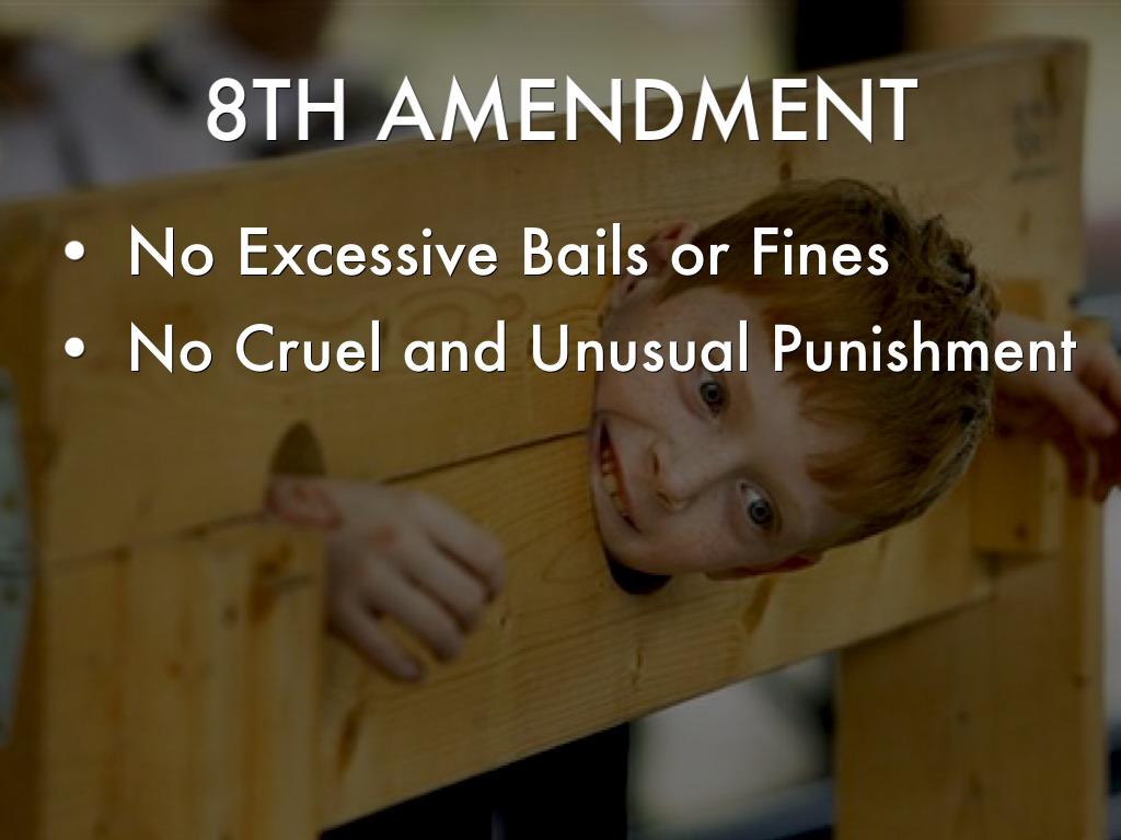 eight amendment