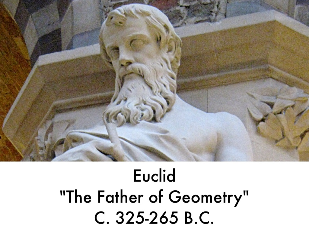 why is euclid the father of geometry