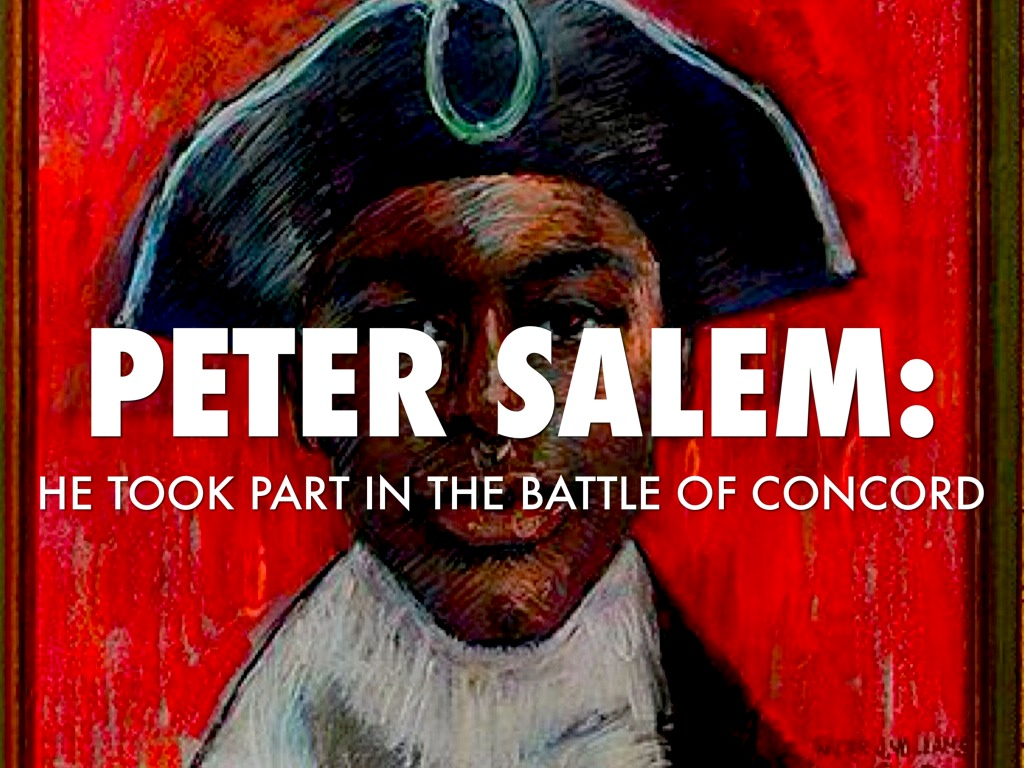 peter salem (editor's note: this story uses the term black as opposed to african-american america itself was only beginning to emerge as an identity during the revolution.