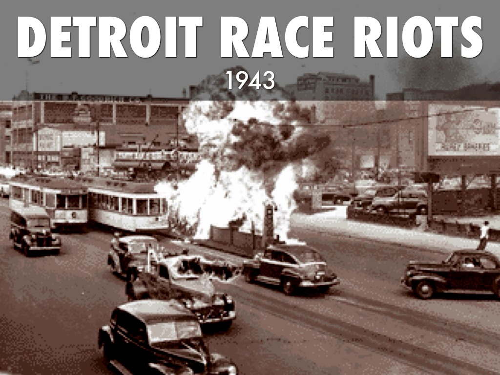 Image result for race-riot in detroit in 1943