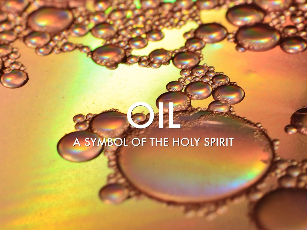 Symbols Of The Holy Spirit Oil By Raymond Peck