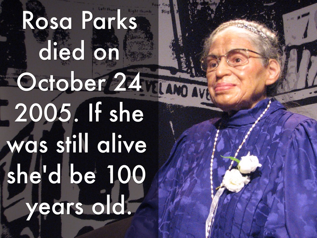 Rosa Parks By Dawn Weiss