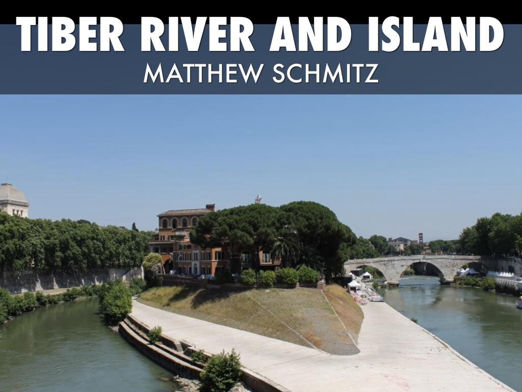 Tiber River And Tiber island