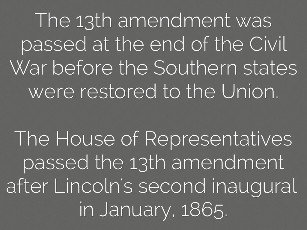 a description of the end of slavery with the emancipation proclamation in the civil war The civil war between the north and the south was fought by the north to although the emancipation proclamation did not end slavery slavery & emancipation.