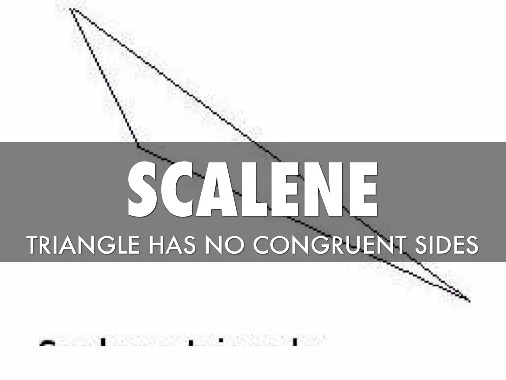 Scalene Triangle Outline Math 2 by james...