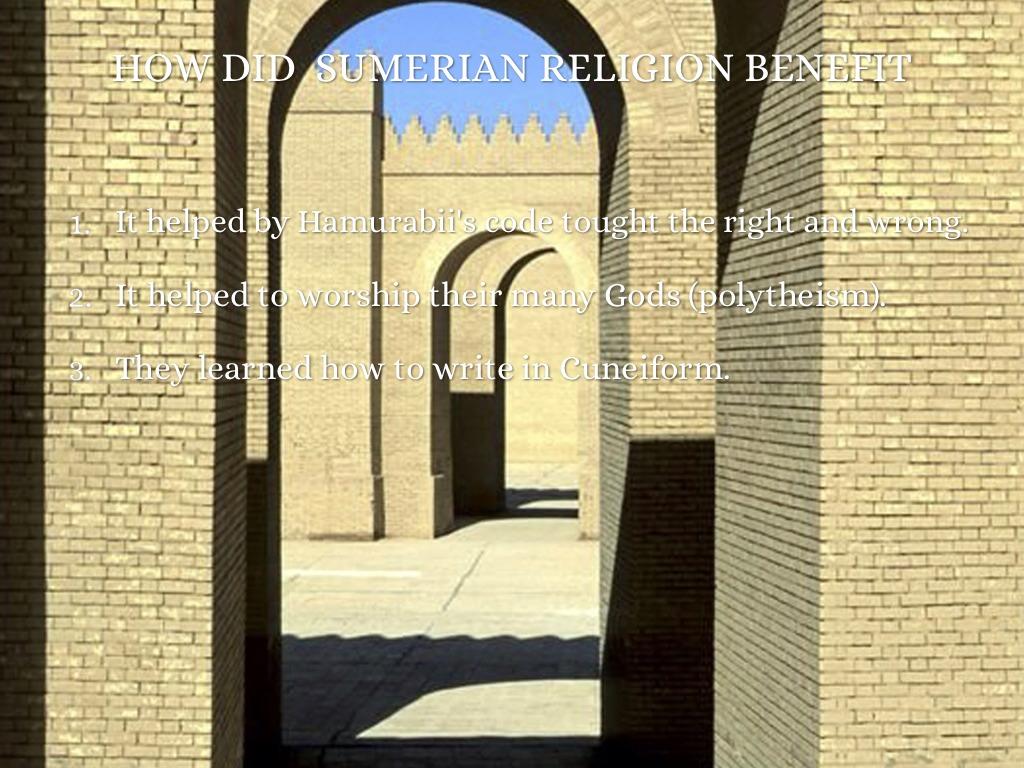 Sumerian Religion by Jared P