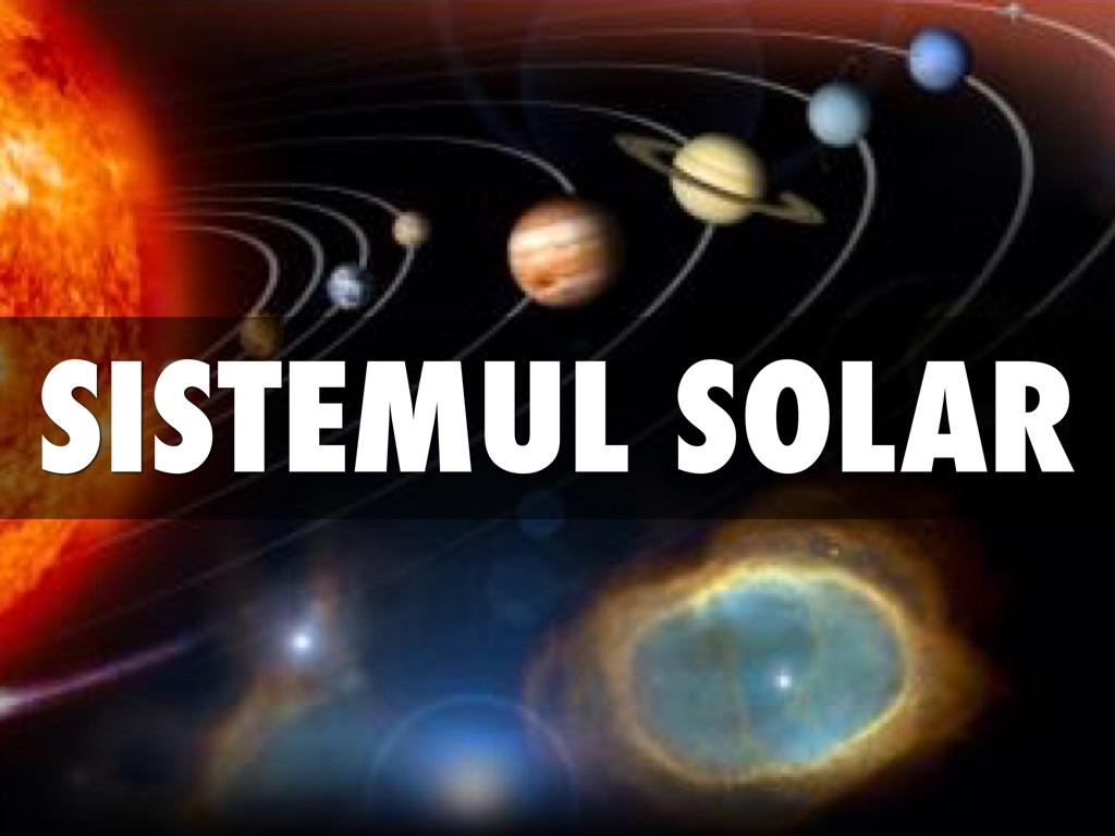 Mic atelier de creatie: Sistemul solar   Sistemul Solar