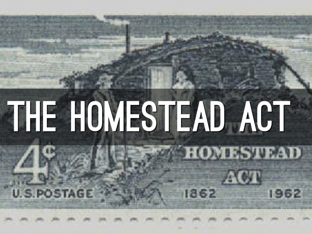 The homestead act by rein marie for Free homestead