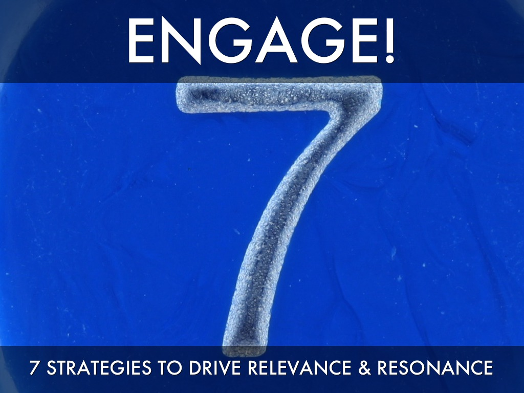 Engage! Driving Content Relevance