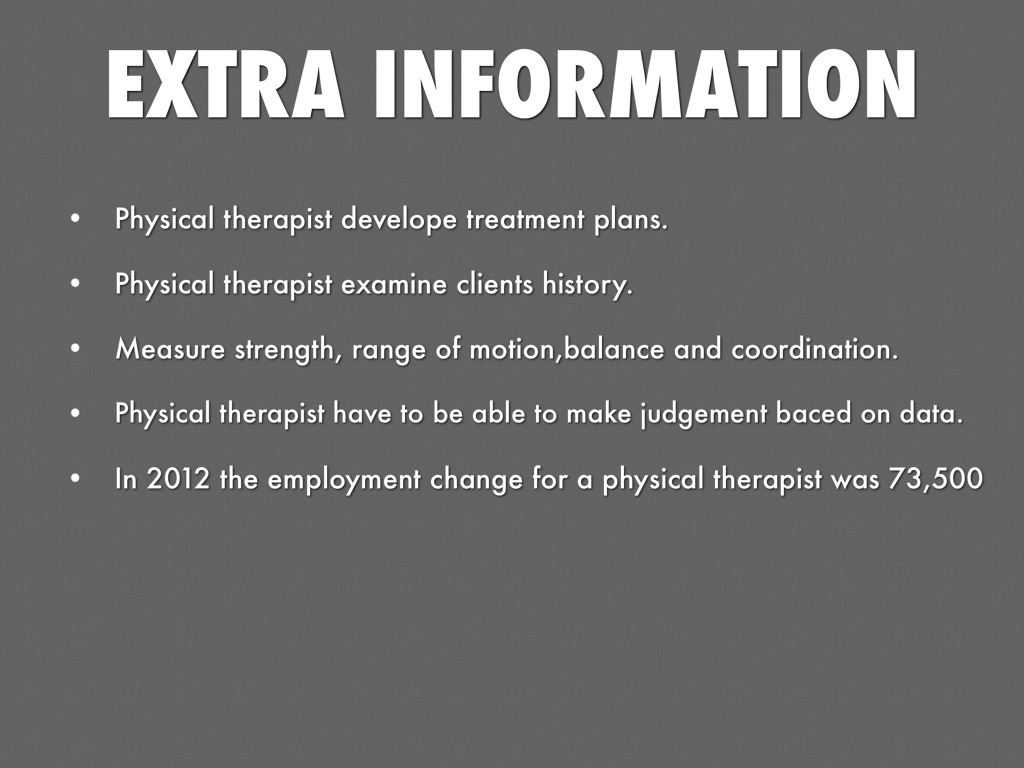 History of physical therapy treatment - 8