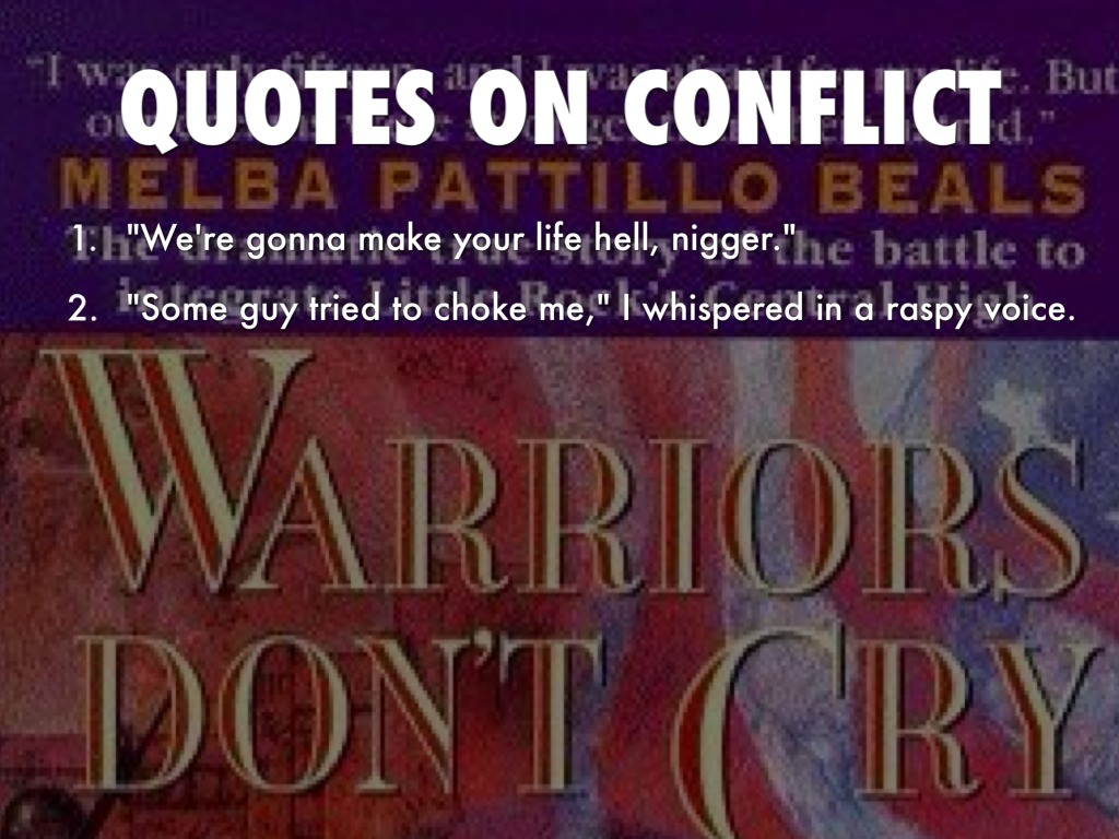 Warriors Dont Cry By Trentonburnett A Conflict