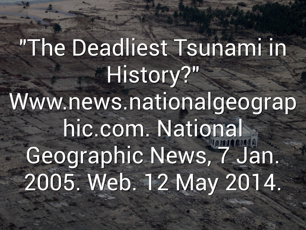 the deadliest tsunami in history The most devastating tsunamis in history the deadliest ever witnessed in europe killing anywhere up to 200,000 people and more-or-less obliterating the.