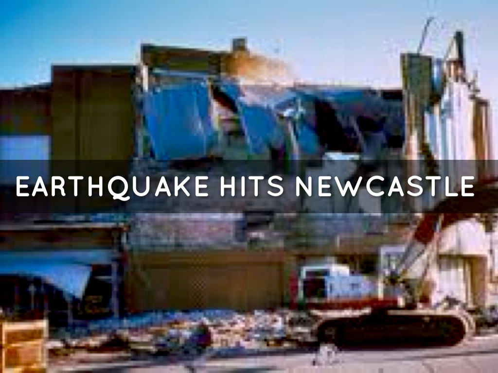 Earthquake Newcastle