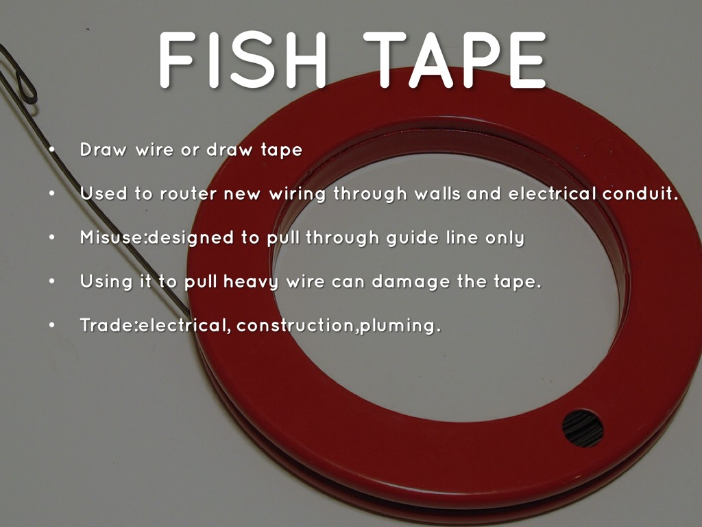 Tool Id By Hdnettel Wiring Through Walls How To Fish 13