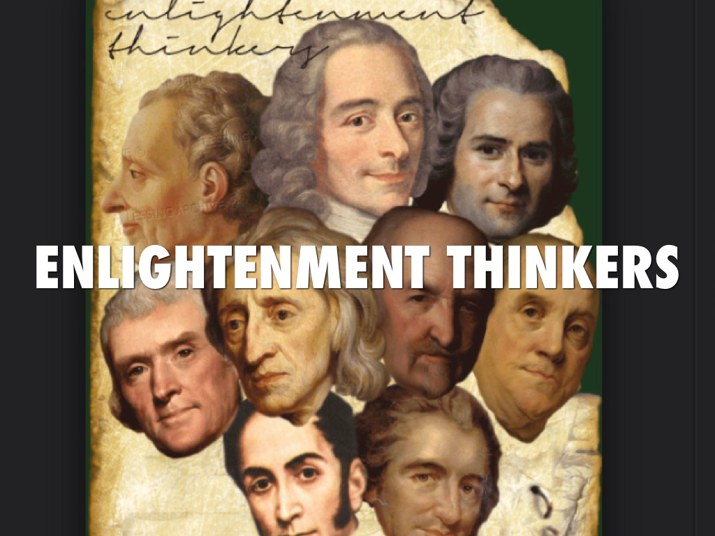 enlightment thinkers by victoria pereira