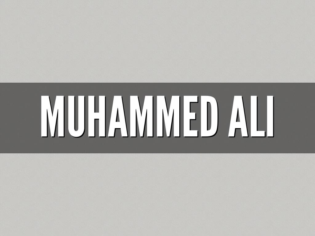 muhammad ali outline