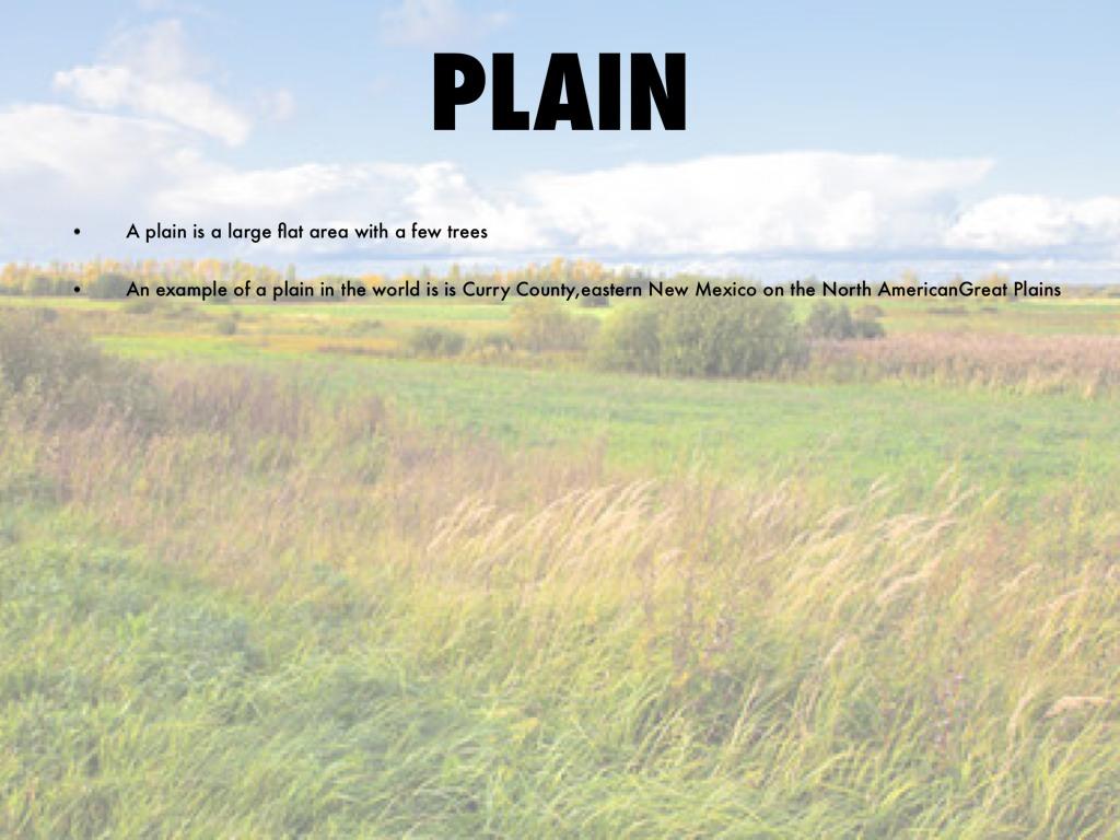 Copy Of Landforms By Haley Stalkfleet