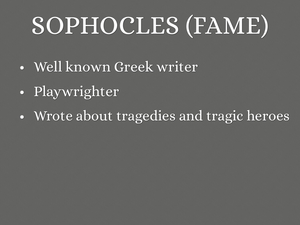 the requirements of a tragic hero as portrayed in sophocles antigone Antigone tragic hero essays in the novel antigone sophocles, the author, depicts the tragic hero creon to the fullest extent sophocles portrays creon as a tragic.