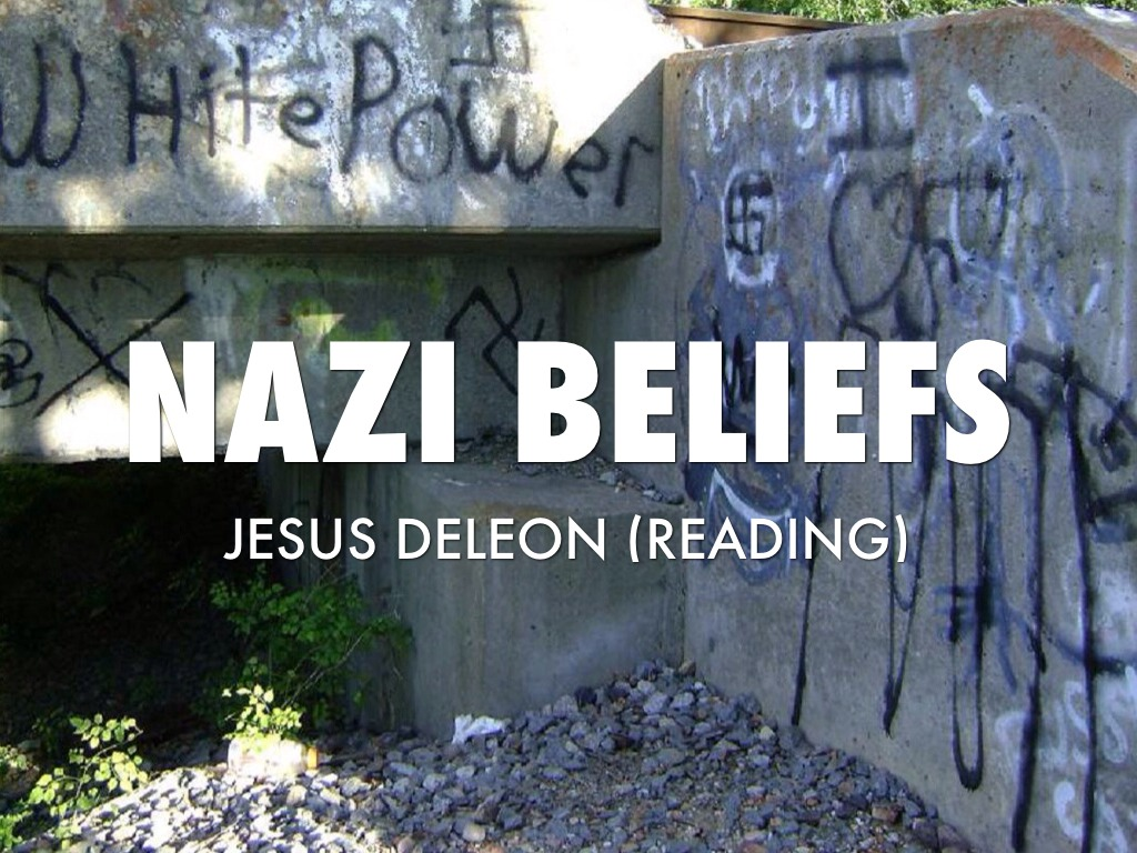 nazi beliefs Choose two beliefs of the nazi party  the core of the nazi party ideology, its collection of ideas and beliefs, was exclusionaccording to the nazis.