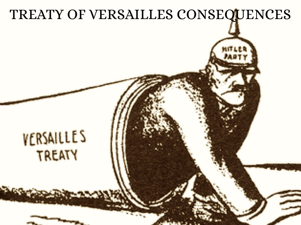 the responsibilities set for germany by the treaty of versailles Peace treaty of versailles articles 231  in the submarine cables set out  force of the present treaty, germany will restore to his majesty the king.