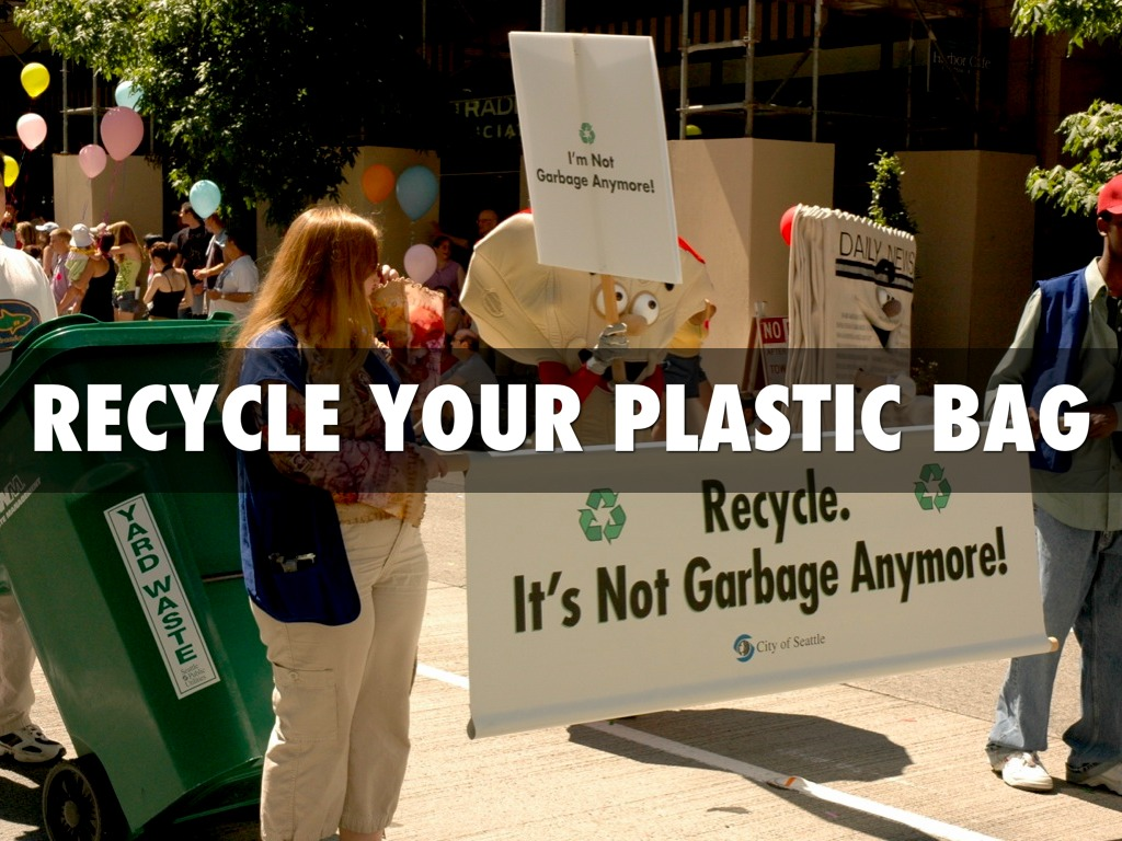 reducing the use of plastic bags