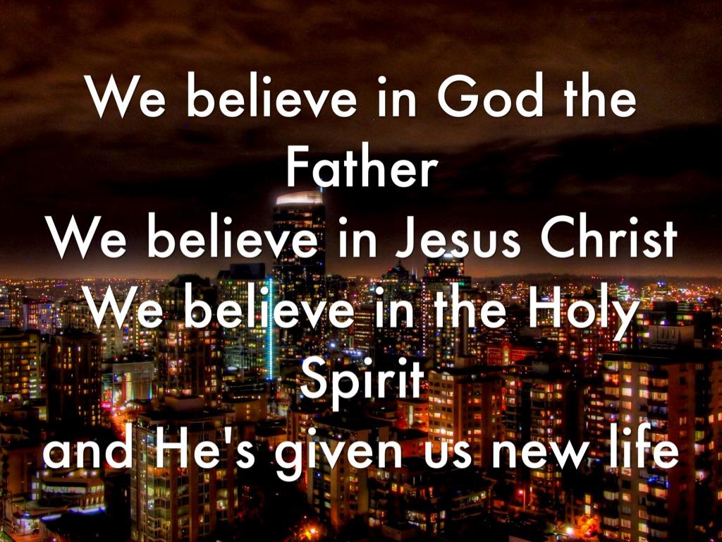 We Believe by Eloy Zertuche