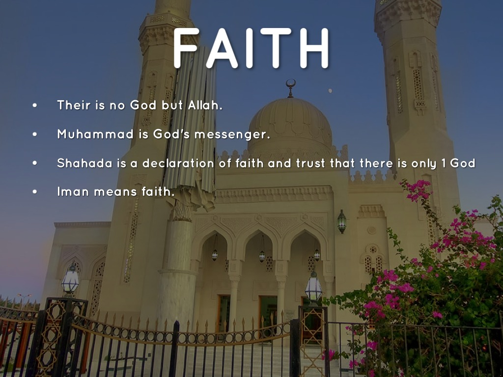 the five pillars of faith The five pillars of islam are five basic rules in islam that all muslims should follow the five pillars are: the shahadah (declaration of faith) - trusting and.