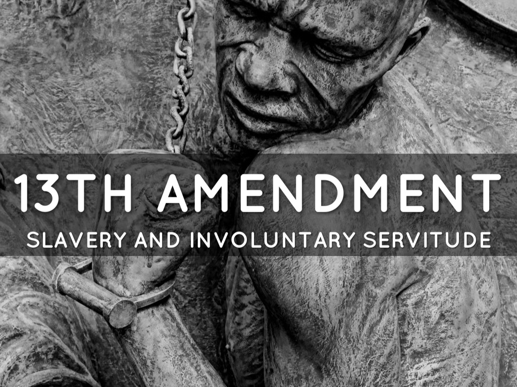 The title of Ava DuVernays extraordinary and galvanizing documentary 13TH refers to the 13th Amendment to the Constitution which reads Neither