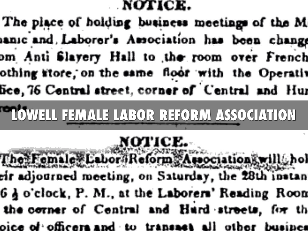 """the women of lowell Questions to answer in conjunction with """"lowell mill girls"""" 1 why were women  interested in working at the lowell factories 2 explain the treatment of mill girls ."""