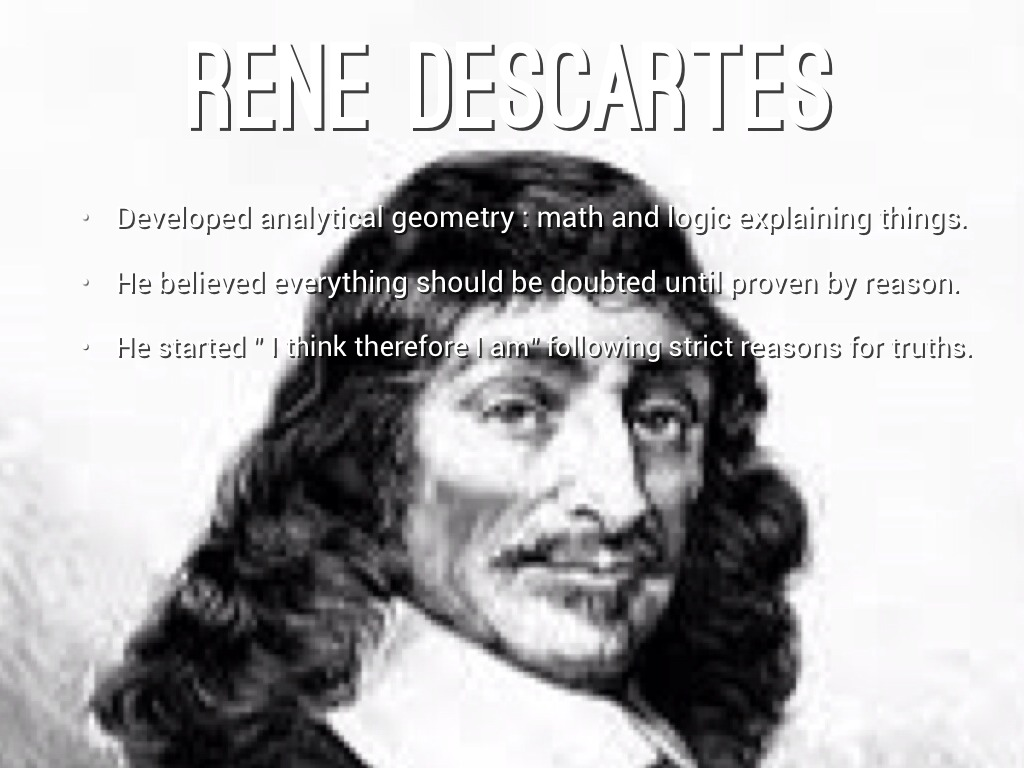 rene descartes and john locke essays Descartes vs locke rené descartes and john locke the purpose of this essay will be to explore descartes' reasoning and proofs of god's existence.
