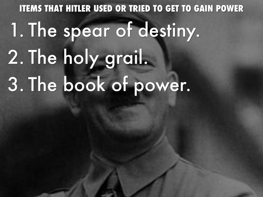 Resultado de imagen para HITLER HOLY GRAIL