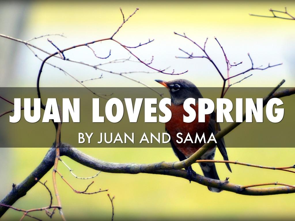 Juan Spring Haiku deck