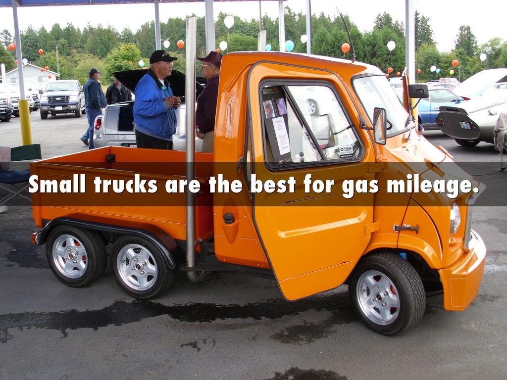 Best small trucks for gas mileage -  Small Trucks Are The Best For Gas Mileage