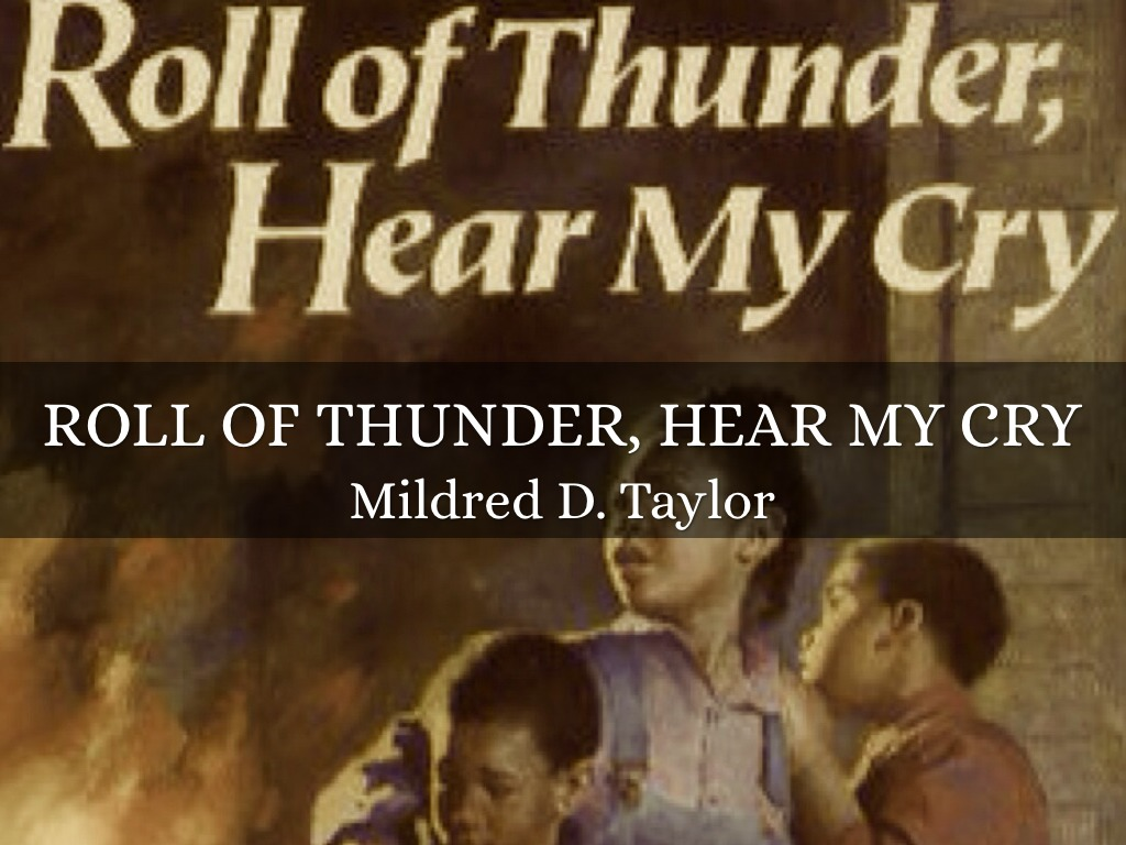 Roll Of Thunder, Here My Cry by anslee walker