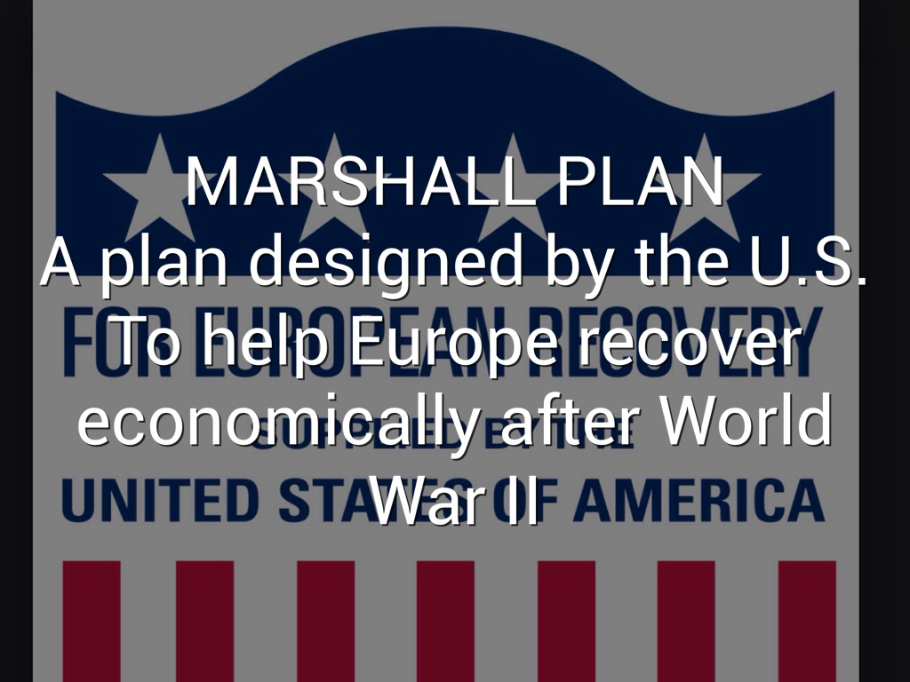 marshall plan impact on the cold Marshall plan, the stipulations of the plan itself along with its importance at the time and the continuing legacy of the marshall plan, a better understanding of the efforts which go into preventing and ameliorating the causes of warfare can be better recognized.