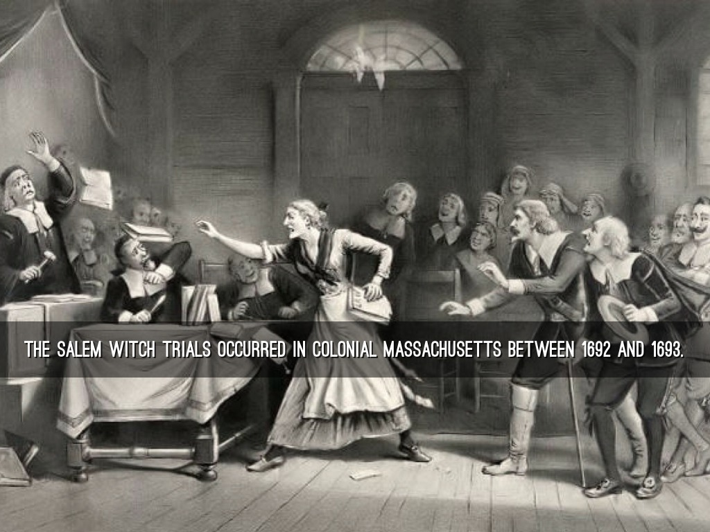 a history of the salem witch trials in the united states Best answer: they are singificant because they were the largest witch trials ever held in the history of america, and one of the last major witch trials.