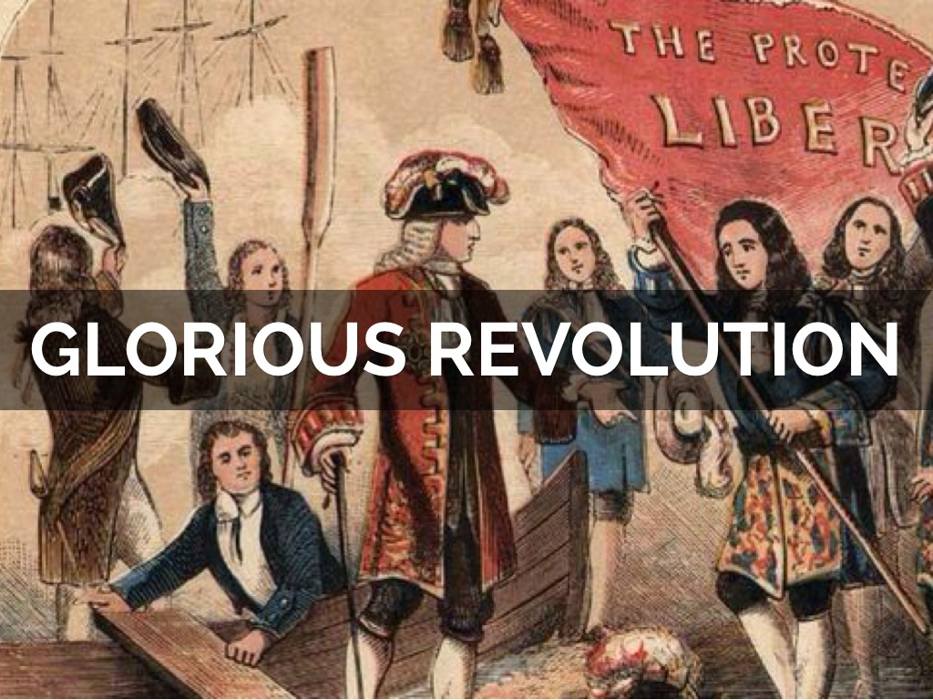 "the glorious revolution of 1688 Edward raymond turner, writing his history of england and ireland in 1919,  claimed that the glorious revolution of 1688, ""is the time when."