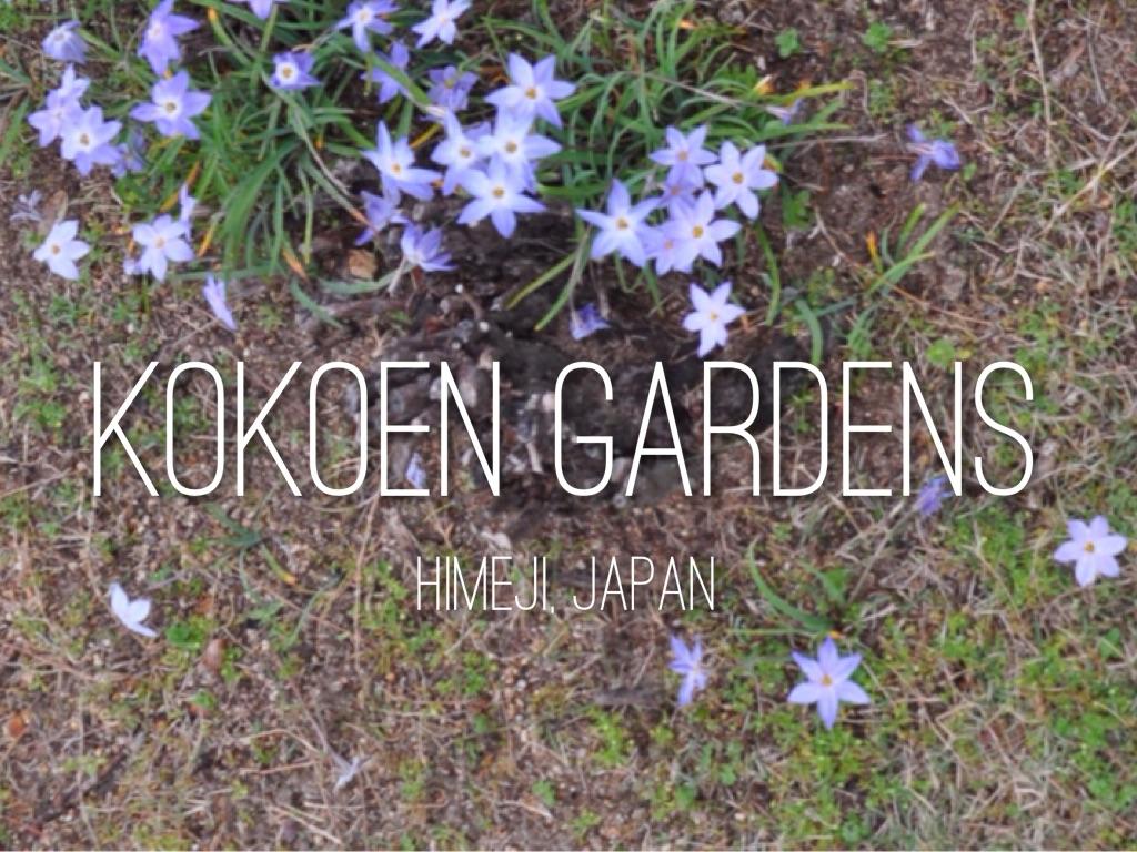 Kokoen Gardens in Himeji
