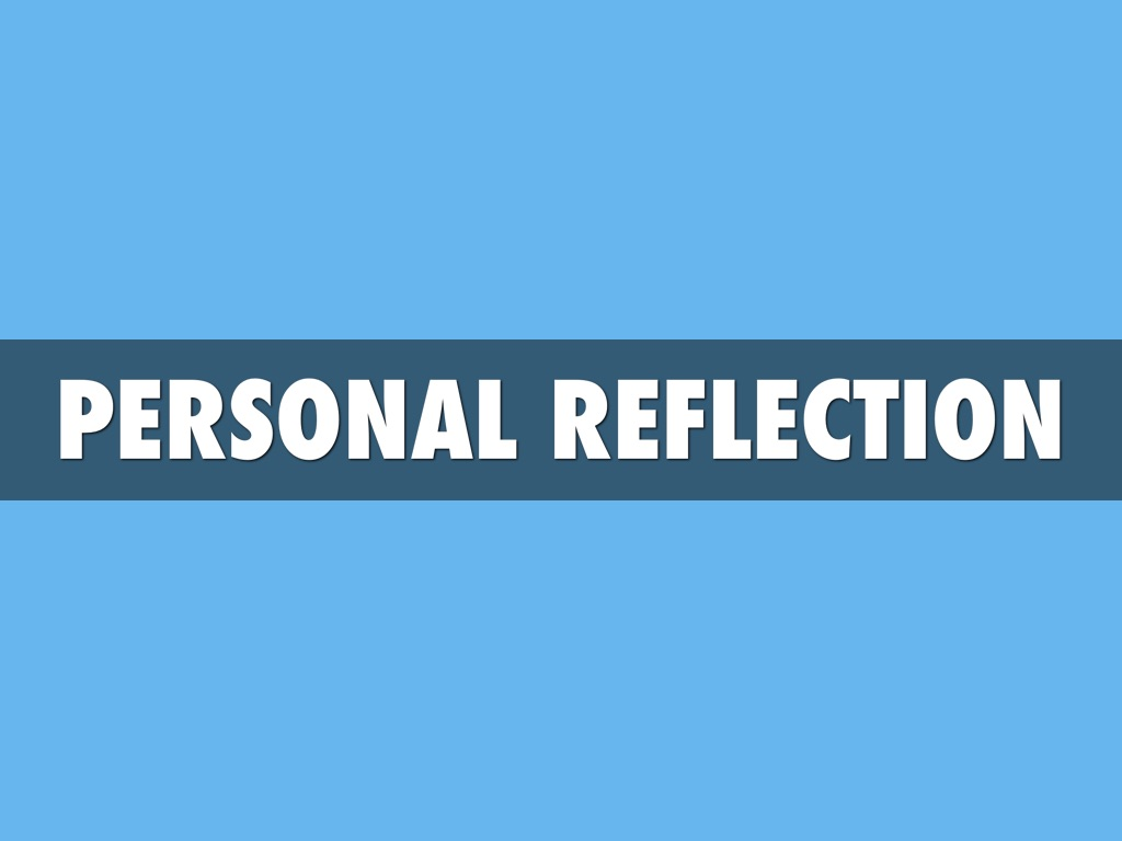 personal reflection University of illinois springfield, one of three universities in the world-class u of i system, is known for educating public servants and leaders.