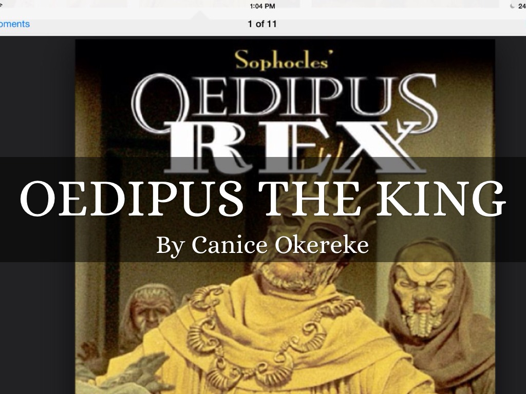 the tragic flaw in a greek tragedy oedipus the king Read this full essay on oedipus as a tragic hero in sophocles' oedipus the king  the tragic hero has served as the foundation of greek tragedy since its ince.