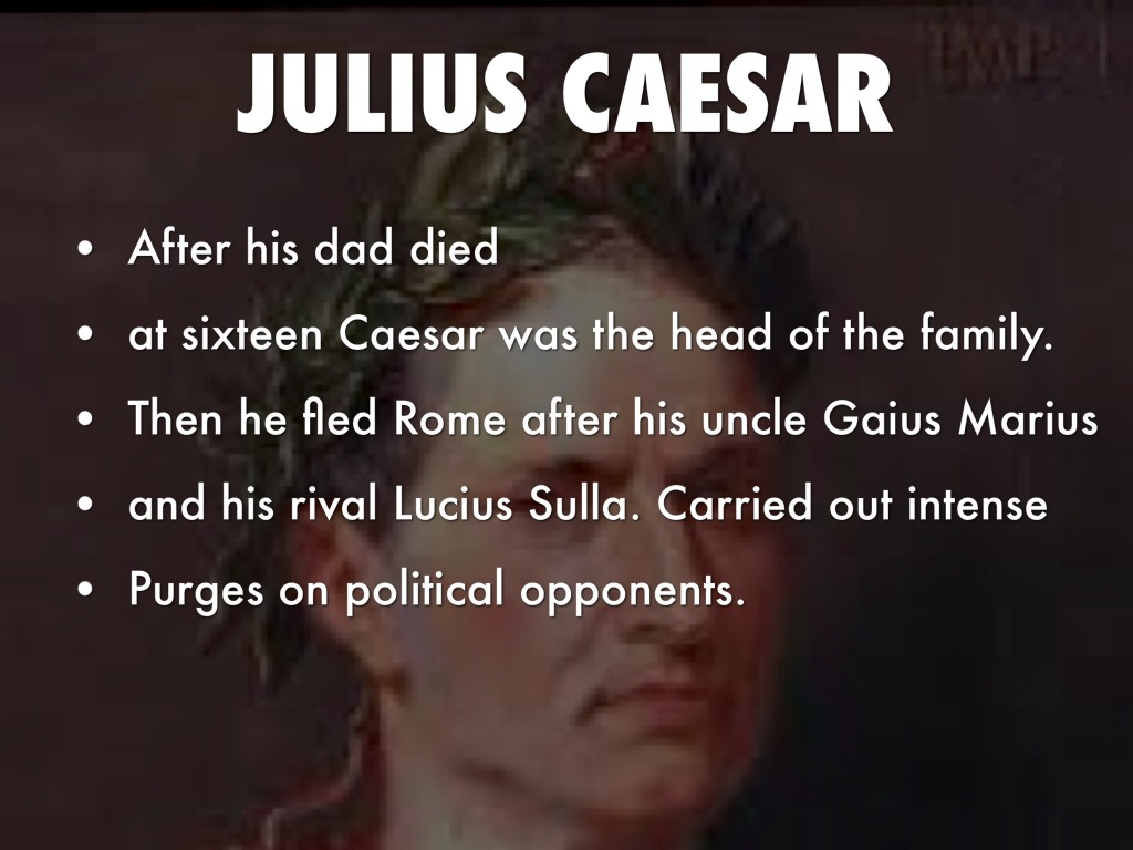 an analysis of the military and political career of julius caesar On an already well-trodden topic,1 julius caesar and the transformation of the roman republic is an excellent beginner's biography of caesar early life of caesar, stevenson gives a general overview of the typical experience of a young roman noble in the late republic: his education, military service.