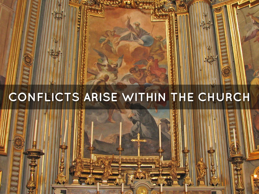 romero conflict within the church