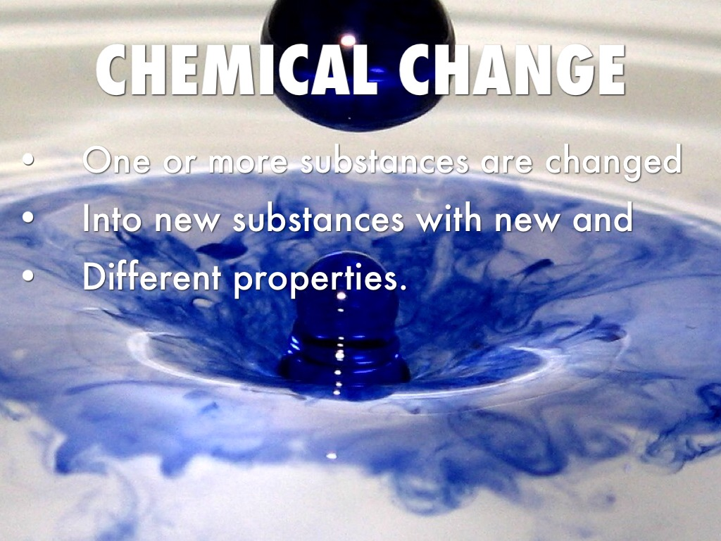 chemical change What is the difference between a physical and chemical change.