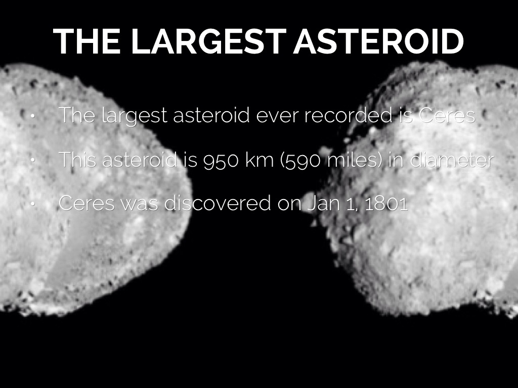 asteroids biggest top 10 - photo #27