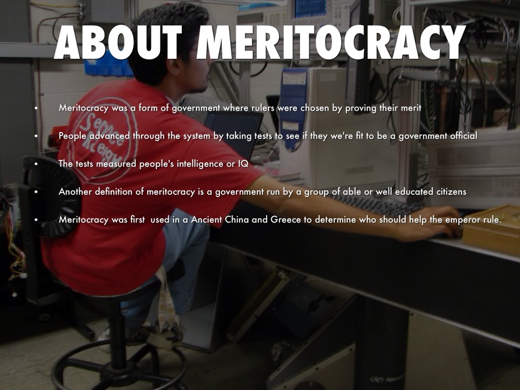 meritocracy popular culture How does the idea of 'meritocracy' serve to reinforce social inequality in against meritocracy: culture, power and myths of mobility (routledge, 2017) dr jo.