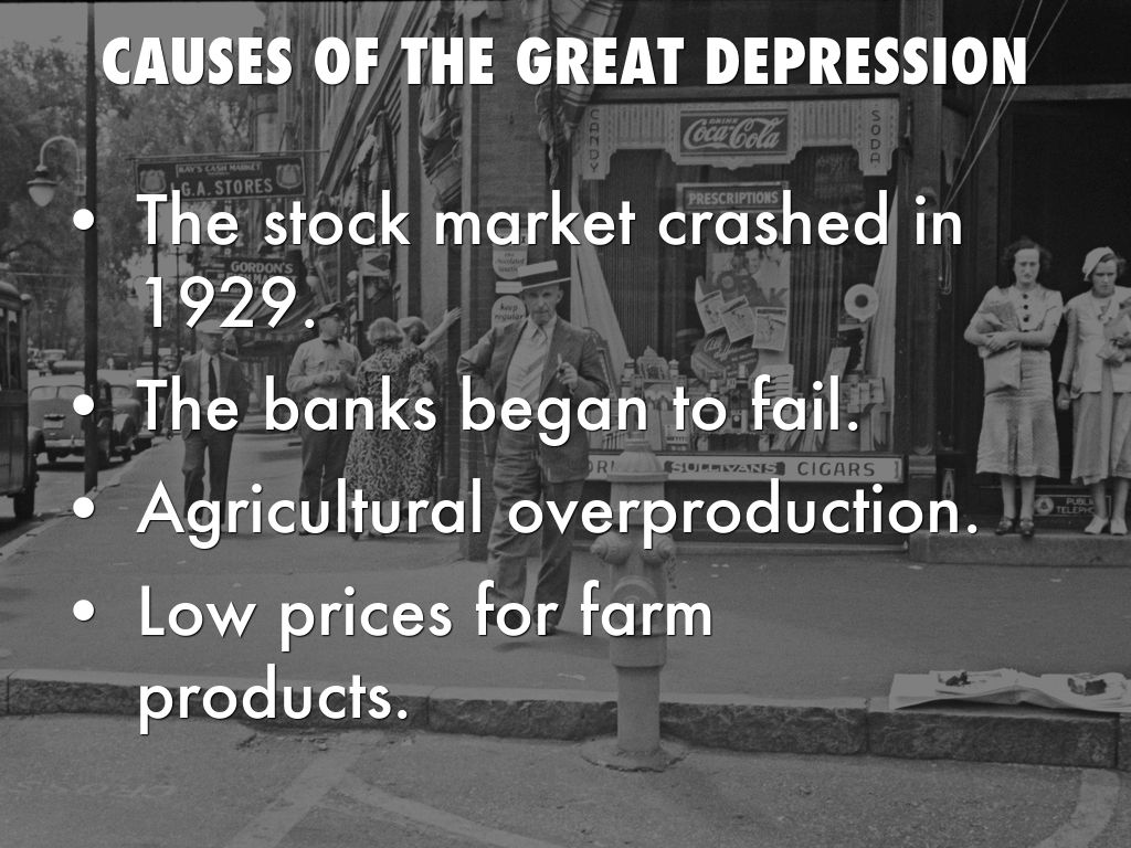great depression by alexis feacher presentation outline