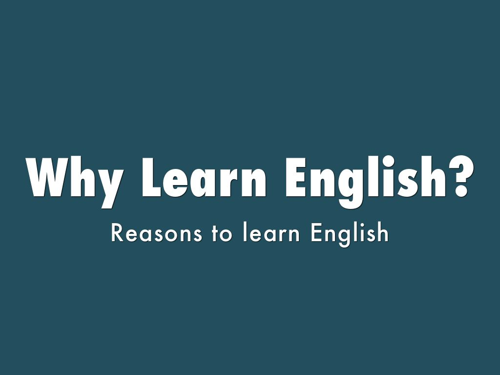reasons to learn english What is business english business english is a specialised area of english relating to the language used in business every year more and more people are studying courses in business english to improve their chances of finding a job at home, career prospects and to be able to work in english speaking countries.