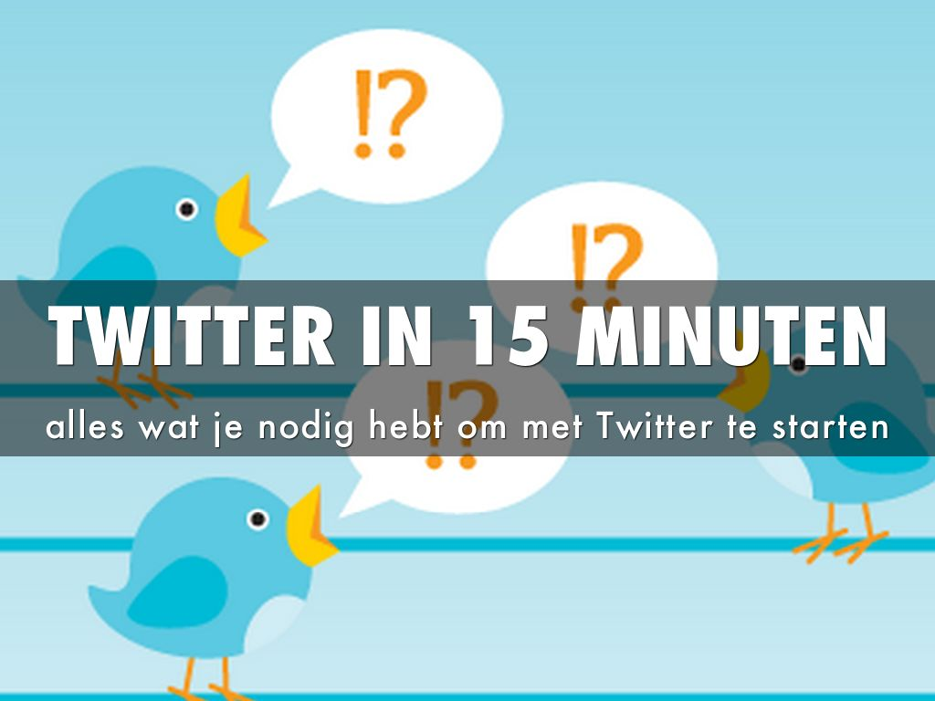 Copy of Twitter In 15 Minutes