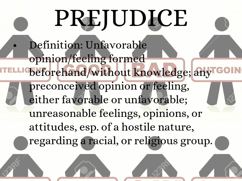prejudice, stereotype, and racism by grace maclaughlin