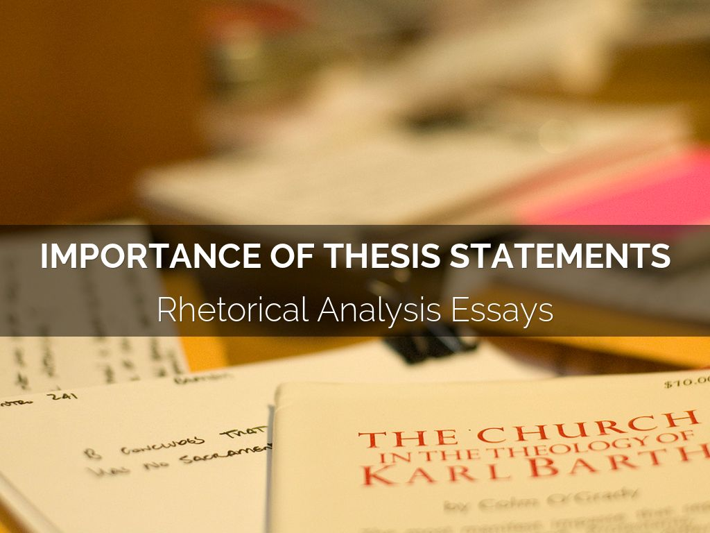 thesis importance